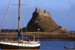 Lindisfarne Castle is near Seahouses Tourist Information Centre