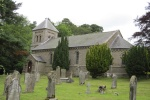 Holy Trinity at Horsley is near Border Forest Holiday Park