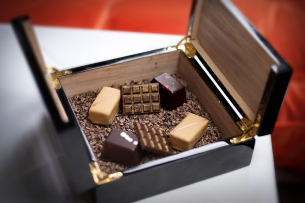 Box of chocolate delights