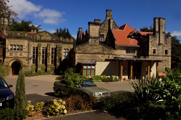 Entrance to Jesmond Dene House