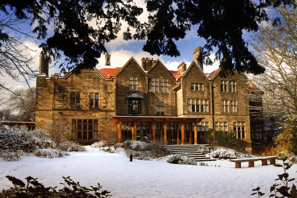 Jesmond Dene House in the Snow