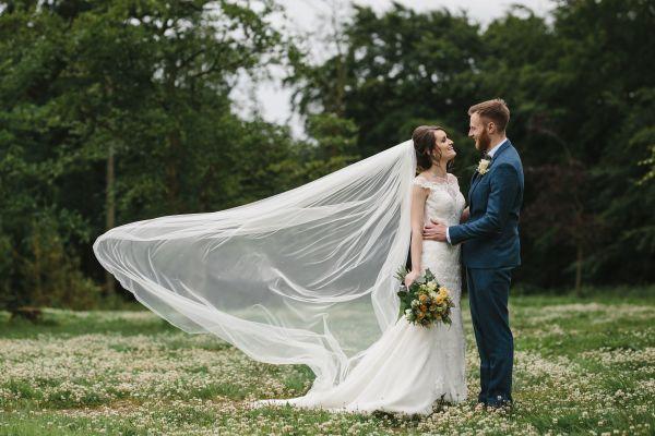 Bride and Groom at Kielder