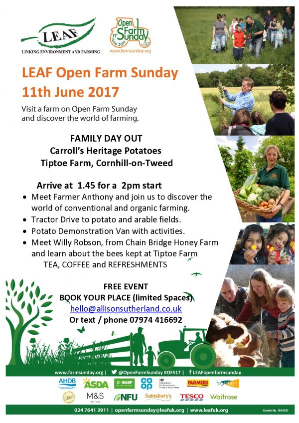 LEAF Open Farm Sunday