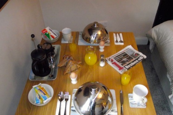 Breakfast Served in the Privacy of your own room