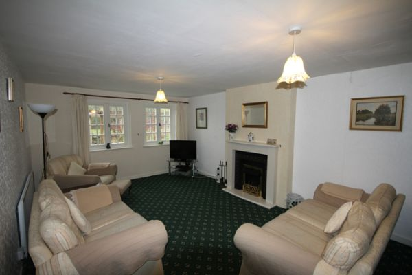 Cheviot Cottage Living Area