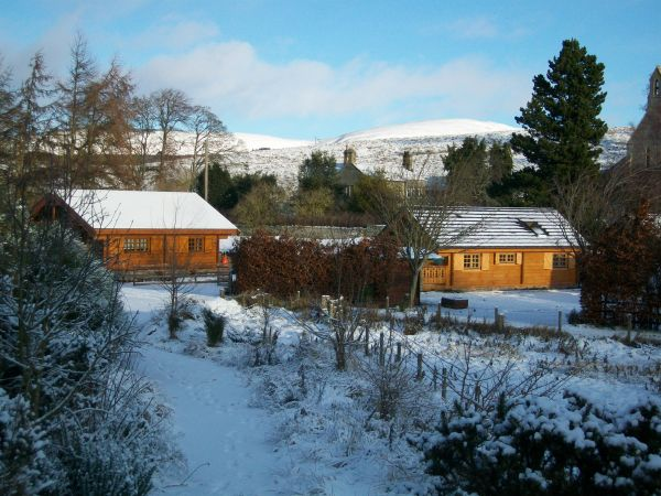 Winter at Low Alwinton Cottages