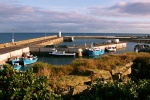 A view of seahouses