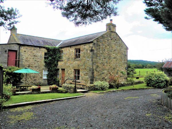 Outside Moorgair Cottage Slaley
