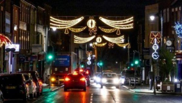 Morpeth Christmas lights switch on