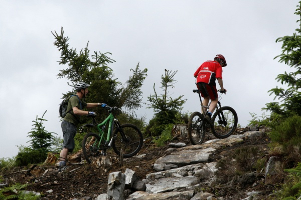 Mountain Biking in Kielder Water