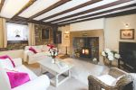 Sitting room is near Hexham Tourist Information Centre