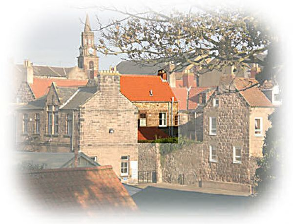 House viewed from Berwick's Walls