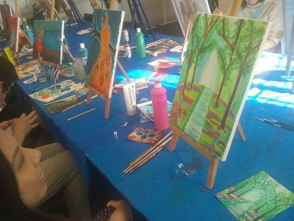 Paint & Sip Beginners Painting Session