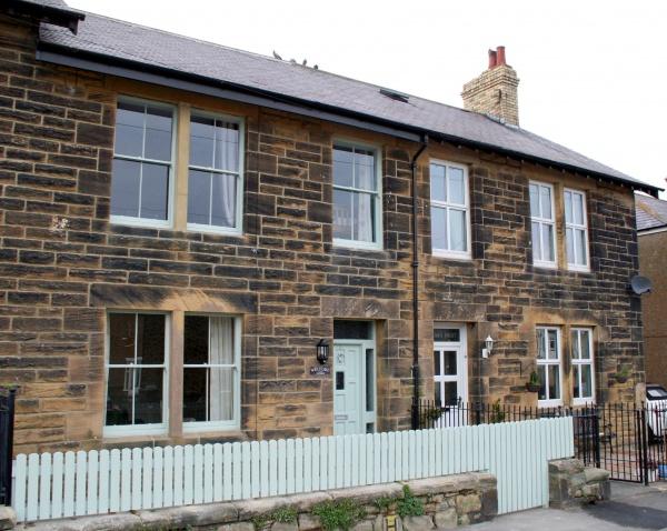 Outside Pebble Cottage