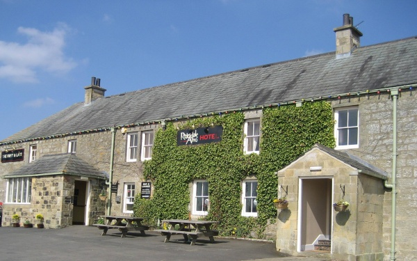 Front of Redesdale Arms