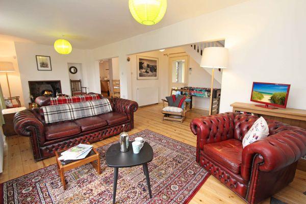 Rock Moor Farm Cottage, open spacious living area