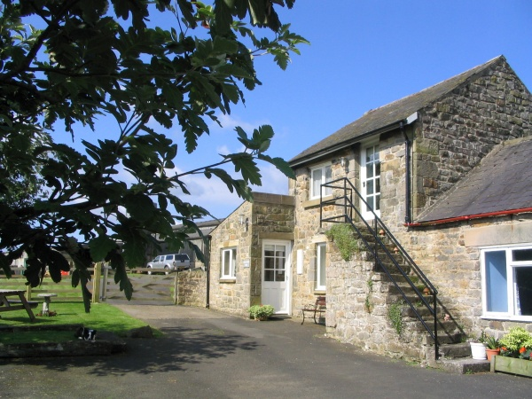 Outside Roses Bower Lodge