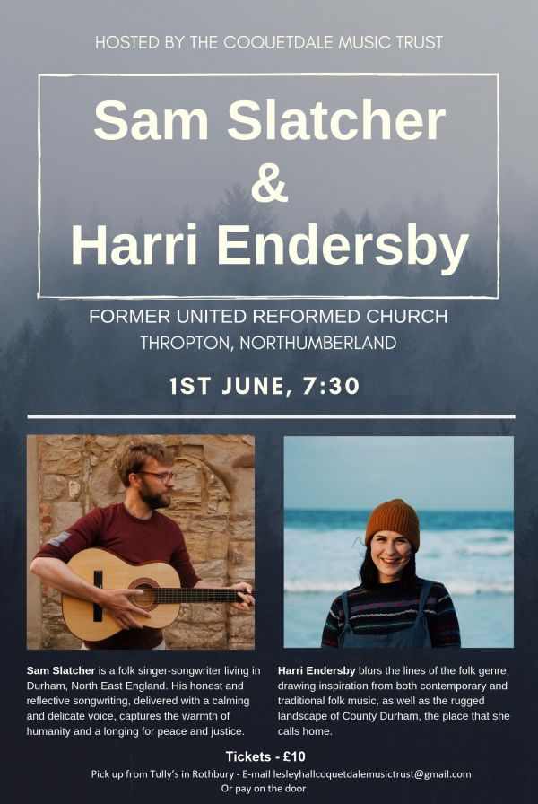 Sam Slatcher + Harri Endersby