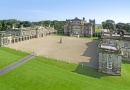 Seaton Delaval Hall is near Blyth Market Day