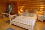 Luxury Lodge Master Bedroom is near Bamburgh Castle