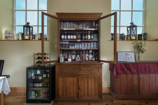 Whatever your tipple, you can enjoy it from our honesty bar...