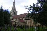 St Mary's at Mitford is near Burgham Park Golf and Leisure Club
