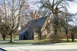 Exterior of St Mary's at Etal is near Benfield Cottage