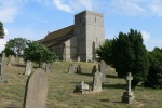 St Mary's at Stamfordham is near The Northumbrian Antiques and Collectors Fair