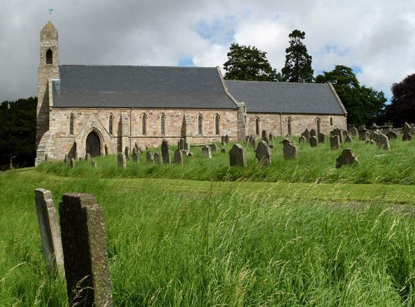 Alternative View of St Michael's