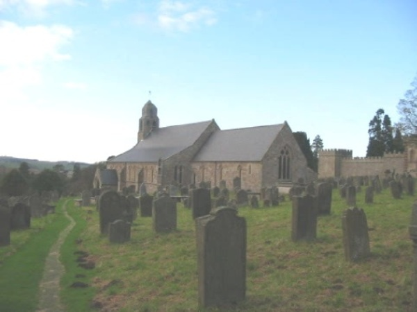 Exterior of St Michael's at Ford