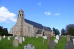 Beautiful Day at St Michael's is near Flodden 1513: Archaeology Flodden Field