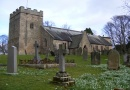 St Peters Church in Bywell is near School Row
