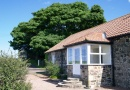 Outside Stable Cottage is near Seahouses Tourist Information Centre