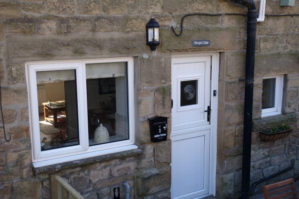 Stanegate Cottage entrance