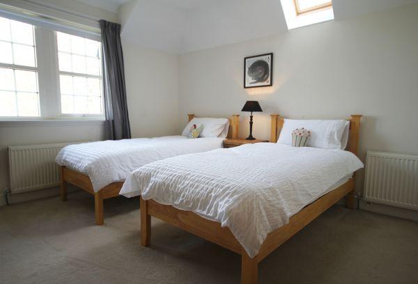 Stone House twin bedroom