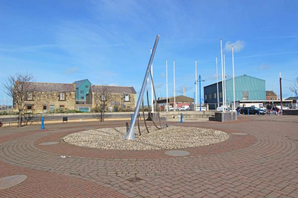 Sundial Sculpture, Amble