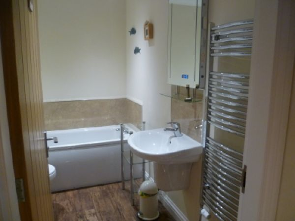 Bath and large shower