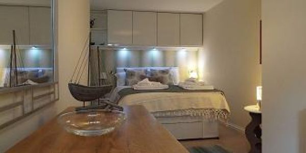 bedroom with luxury double