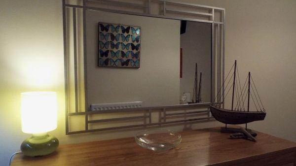 corner of the bedroom
