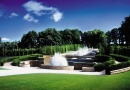 The Grand Cascade at Alnwick Garden is near The Hogs Head Inn