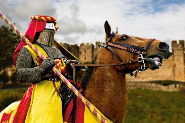 The Alnwick Joust 2019 at Alnwick Castle