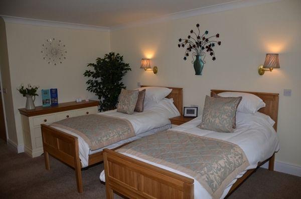 Twin B&B Room at The Boatside Inn