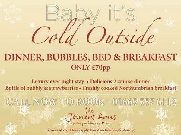 Dinner, Bed, Bubbles & Breakfast
