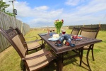 Enjoy the views of uninterupted countryside from the garden  is near Bamburgh Castle