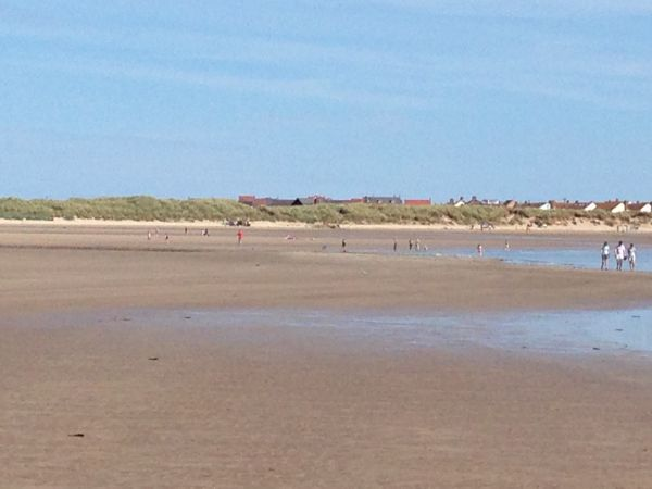 Beadnell Beach just a minutes walk