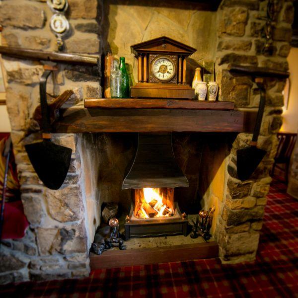 Lounge Bar Open Fire