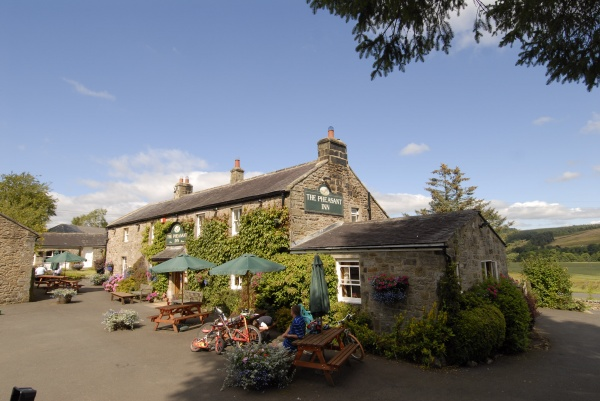 Outside The Pheasant Inn near Kielder Water and Forest Park is near The Holly Bush Inn