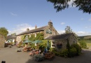 Outside The Pheasant Inn near Kielder Water and Forest Park is near Drovers Cottage