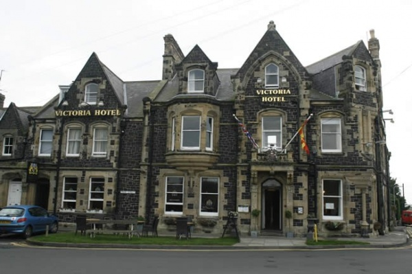 The Victoria Hotel in Bamburgh