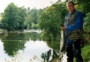 Fishing along the River Tweed